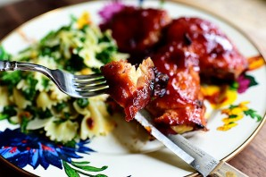 Курица барбекю в духовке - фото шаг 10