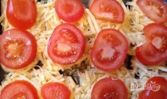 Гренки с помидорами, сыром и чесноком - фото шаг 4