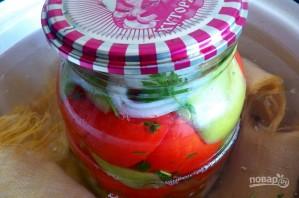 Салат из помидоров с перцем на зиму - фото шаг 9