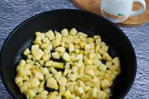 Карамелизированные яблоки на сковороде - фото шаг 4