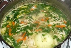Картофельный суп на курином бульоне - фото шаг 6