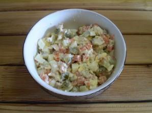 Салат к рису - фото шаг 7