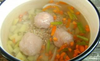 Детский суп с фрикадельками - фото шаг 3