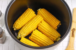 Кукуруза в сливочном соусе - фото шаг 2