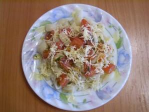 Макароны с помидорами - фото шаг 6