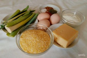 Кукурузно-сырная запеканка - фото шаг 1