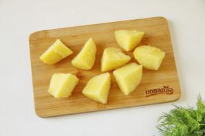 Салат с картофелем - фото шаг 2