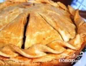 Пирог с мясом и яблоками - фото шаг 6