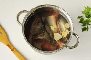 Сырный суп из горбуши - фото шаг 2