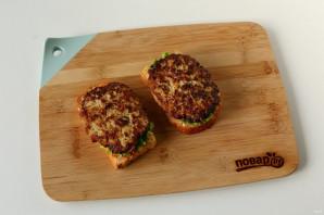 Сэндвич с котлетой - фото шаг 6