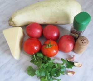 Запеченные кабачки в духовке - фото шаг 1