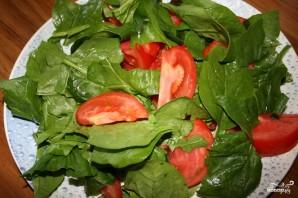 Салат со шпинатом - фото шаг 1