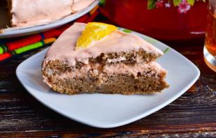 Шоколадный торт с апельсиновым кремом - фото шаг 12