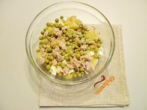 Салат из печени трески - фото шаг 3