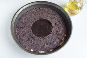 Пирог с шоколадной пастой, маком и орехами - фото шаг 6