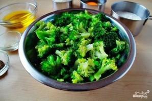 Оладьи из брокколи с сыром - фото шаг 1