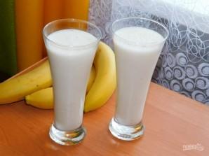 Молочный десерт с бананами и отрубями - фото шаг 4