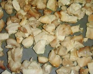 Куриное рагу в тыкве - фото шаг 2
