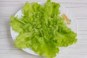 Салат с сырными шариками - фото шаг 5