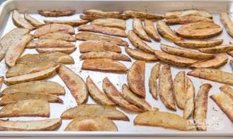 Картофельные дольки с чесноком - фото шаг 5