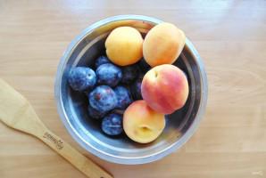 Варенье из персиков и слив - фото шаг 2