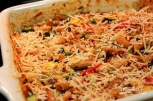 Запеканка из овощей и макарон - фото шаг 5