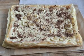 """Торт """"Наполеон"""" из готового слоеного теста - фото шаг 9"""