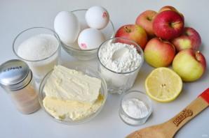 Яблочный пирог от бабушки Эммы - фото шаг 1