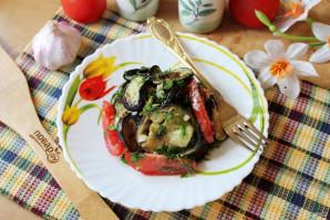 Закуска с баклажанами и чесноком - фото шаг 13