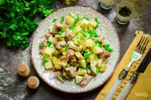 Картофельный салат с говядиной - фото шаг 8