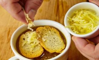 Луковый суп классический рецепт - фото шаг 10