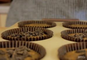 Шоколадно-кофейные маффины - фото шаг 3