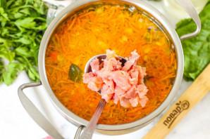Суп из копченой семги - фото шаг 5