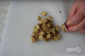 """Салат """"Аура"""" с курицей и грибами, без майонеза - фото шаг 2"""