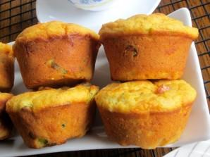 Кекс с ветчиной и сыром - фото шаг 8