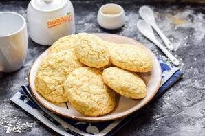 Кокосовое печенье без сахара