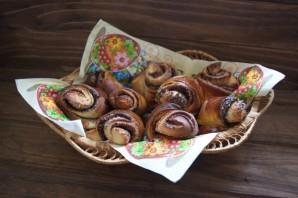 Сладкие дрожжевые булочки - фото шаг 9
