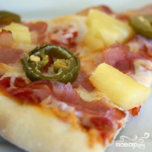 Гавайская пицца - фото шаг 6