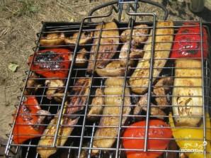 Овощи на мангале - фото шаг 4