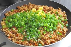 Жареный рис со свининой - фото шаг 10