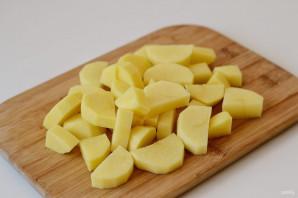 Картофель в кукурузной муке - фото шаг 3