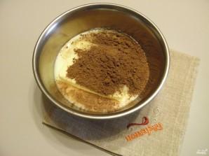 Шоколадная колбаса из печенья - фото шаг 2