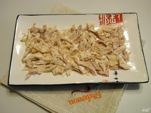 Салат из курицы с майонезом - фото шаг 4