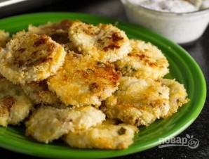 Картофельные биточки с сыром и беконом - фото шаг 5