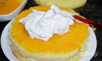Торт бисквитный - фото шаг 12