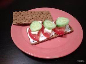 Закуски на хлебцах: 3 вида - фото шаг 7
