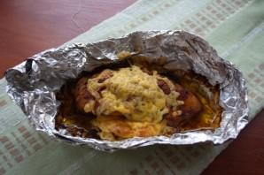 Грудка, запеченная с сыром - фото шаг 6