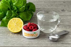 Малиновый лимонад с базиликом - фото шаг 1
