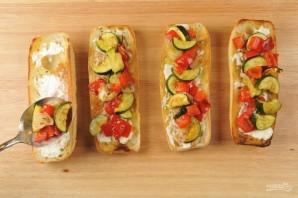 Багет с запечёнными овощами - фото шаг 5
