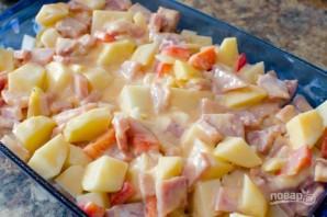 Запеканка из картофеля, ветчины и сыра - фото шаг 2